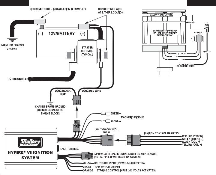mallory 685 ignition wiring diagram | wiring diagram database group  wiring diagram library