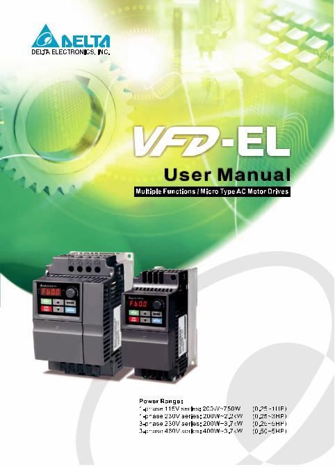 Ac Drives Delta Ac Drive Vfd B Manual Manufacturer From Rajkot