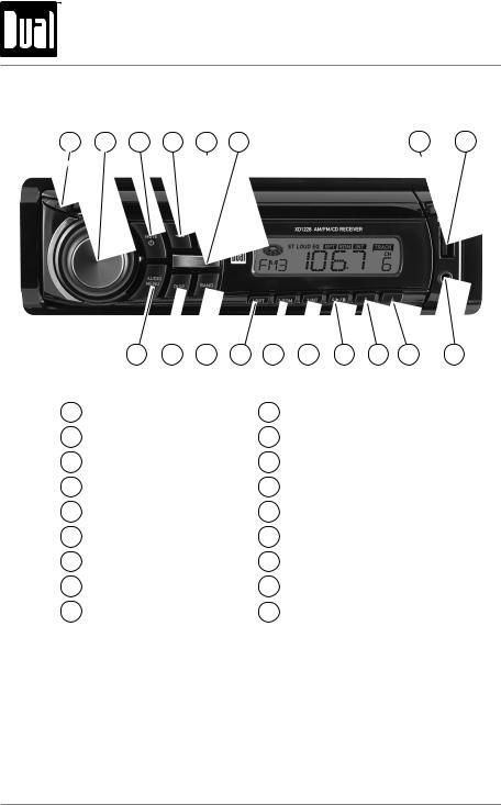 Dual Xd1228 Wiring Diagram from manualmachine.com