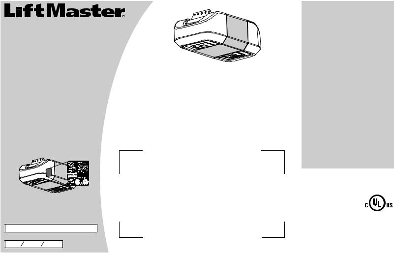 Liftmaster 8550 Elite Series Owner U0026 39 S Manual Manual Guide
