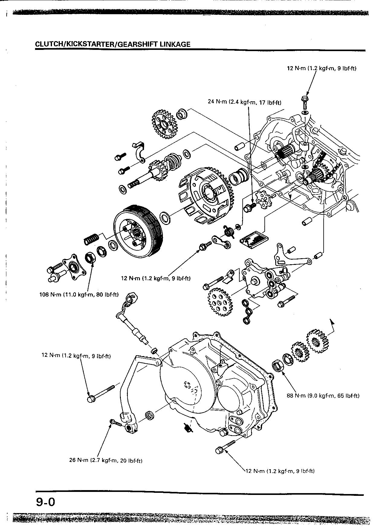 Honda 250R, XR250 Service Manual cap 9-10-11 XR400 1di2ManualMachine.com