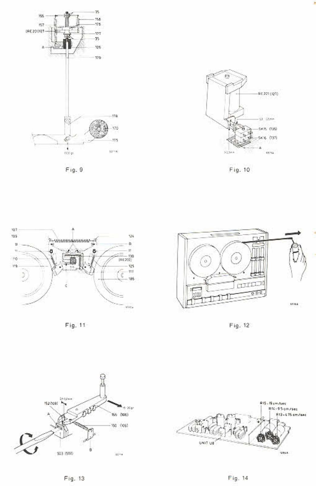 Philips Service Manual für Tonband N 4511  Copy