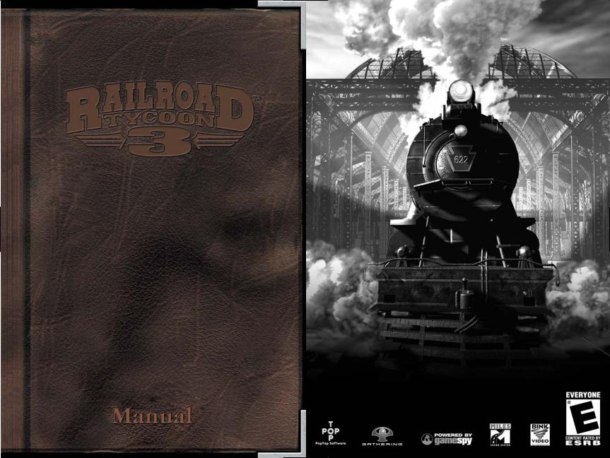 Games Pc Railroad Tycoon 3 User Manual