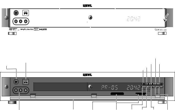 Loewe Centros 2172 HD, Centros 2102 HD User Manual