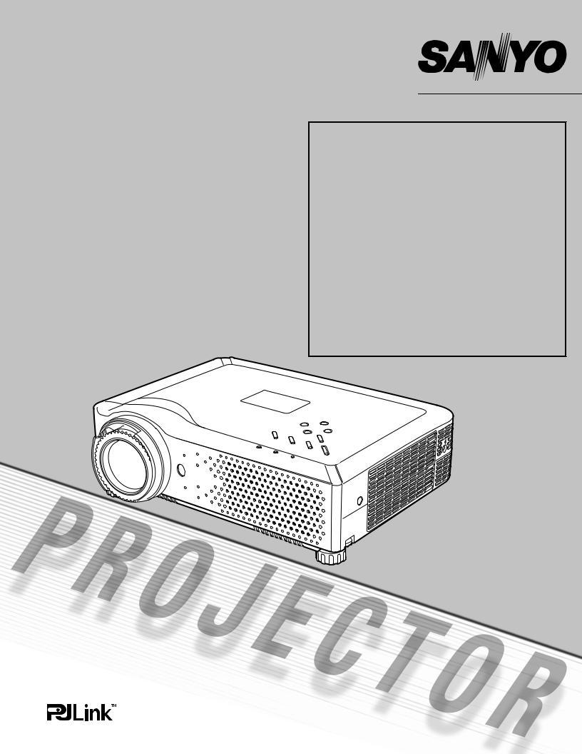 Sanyo PLV-80L LCD Projector WXGA LNS-T31A Long Lens VGA//DVI//Component Inputs