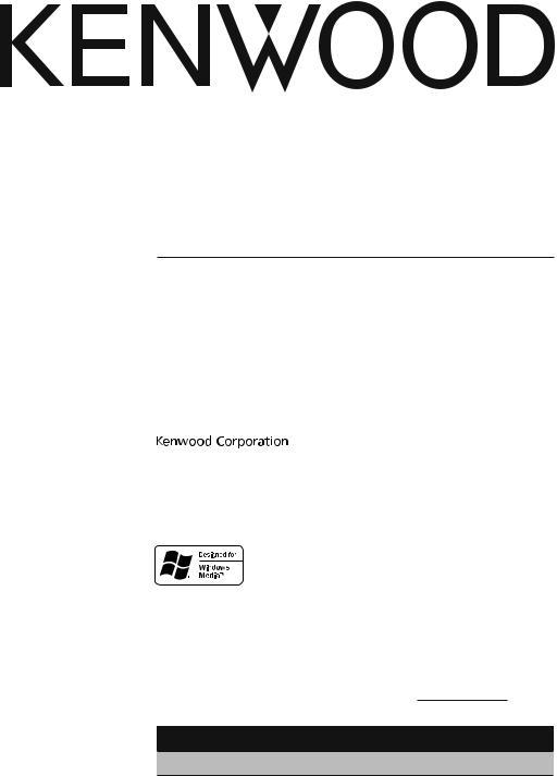 Kenwood KDC-MP145CR, KDC-MP145, KDC-MP245 User Manual on