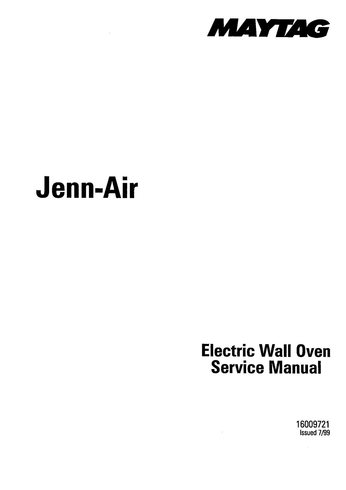 Jenn Air Jmw8530 Jjw8627 Jjw9630