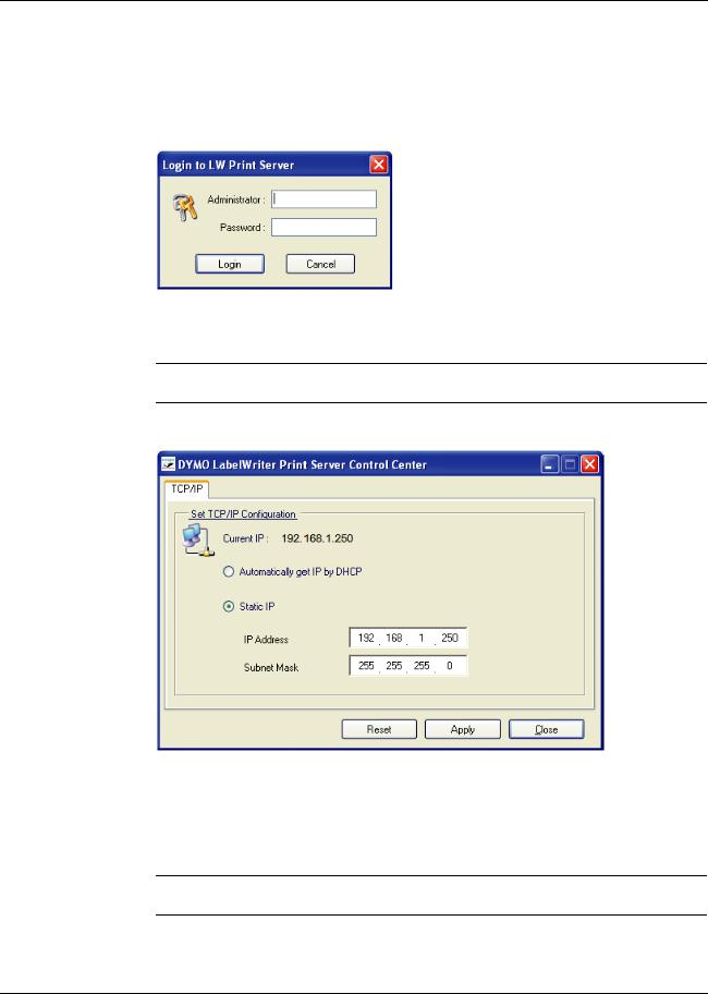 I can't change the TCP/IP (ipv4) settings, as …