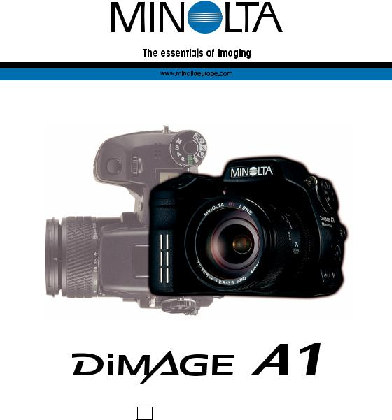 Minolta Flash Meter IV Instruction Manual User Guide English AC 136
