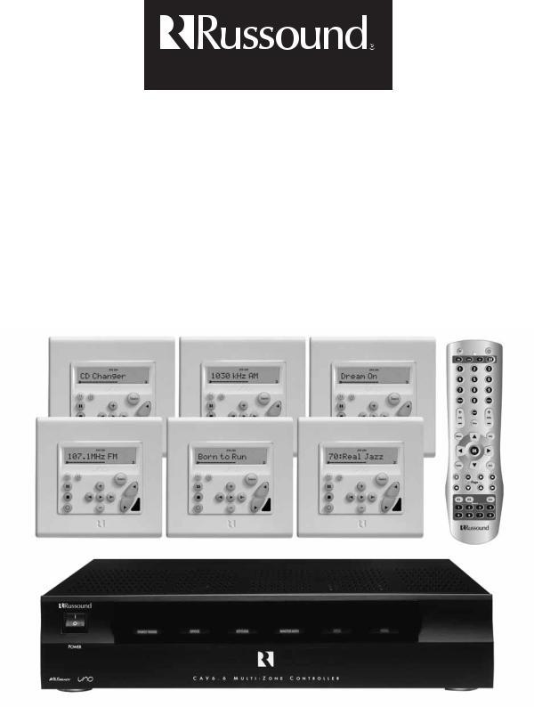 Russound PC Power Tool Custom Programming Kit RNET for CAV6.6 ST2 CAM6.6
