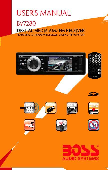 Boss Audio BV7280 User ManualManualMachine.com