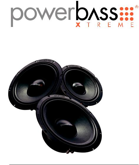 PowerBass XPRO 8 Midrange Professional Driver