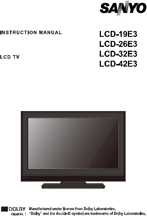 Base SANYO DP32642 TV Stand