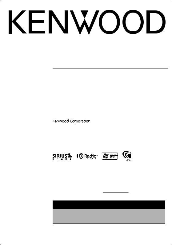 Kenwood Kdc Mp332 Kdc Mp4032 User Manual