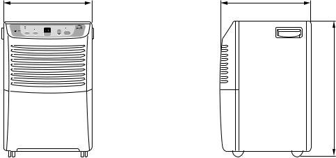 Goldstar Dh504el 50 Pint Dehumidifier