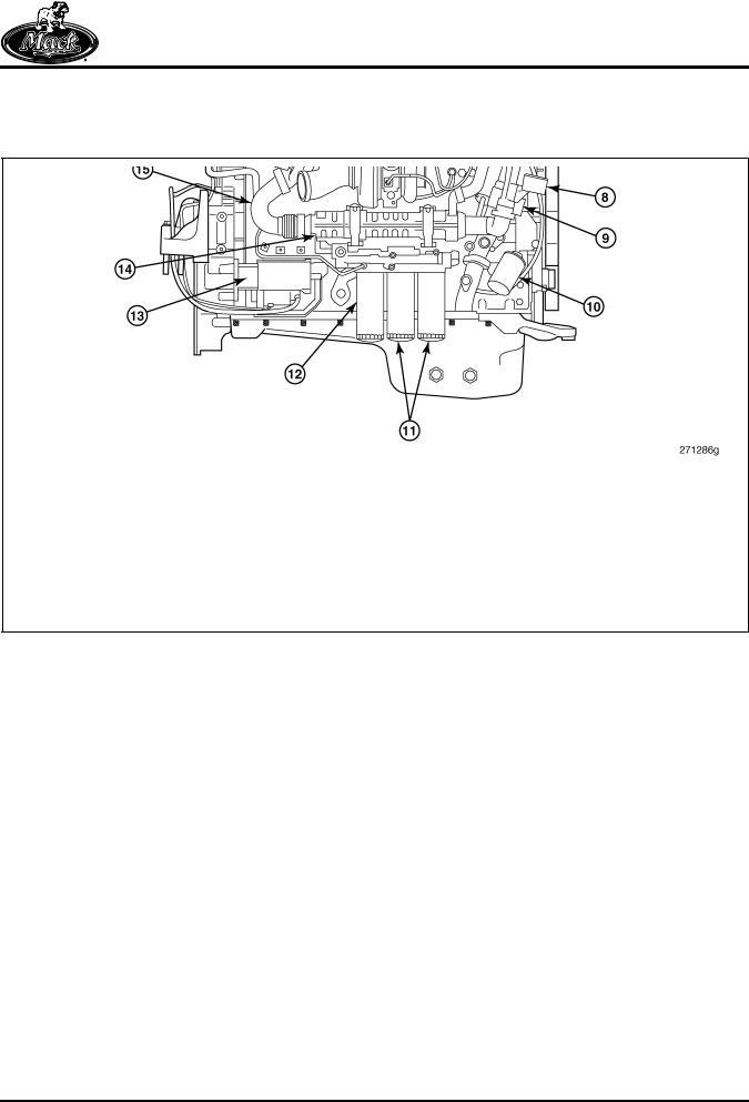 Mack MP8 Diesel Engine Service Manual '07 Emissions Regulations ...