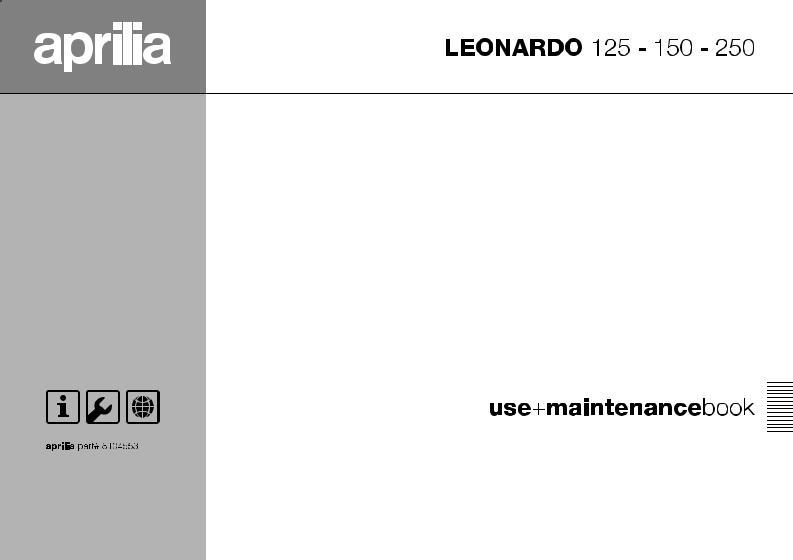 [GJFJ_338]  Aprilia LEONARDO 150 User Manual | Aprilia Leonardo 125 Wiring Diagram |  | ManualMachine.com