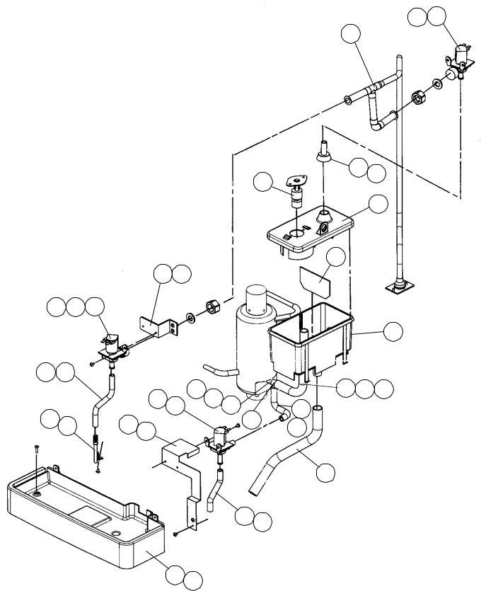 Hoshizaki 406132-03 Water Control Relay