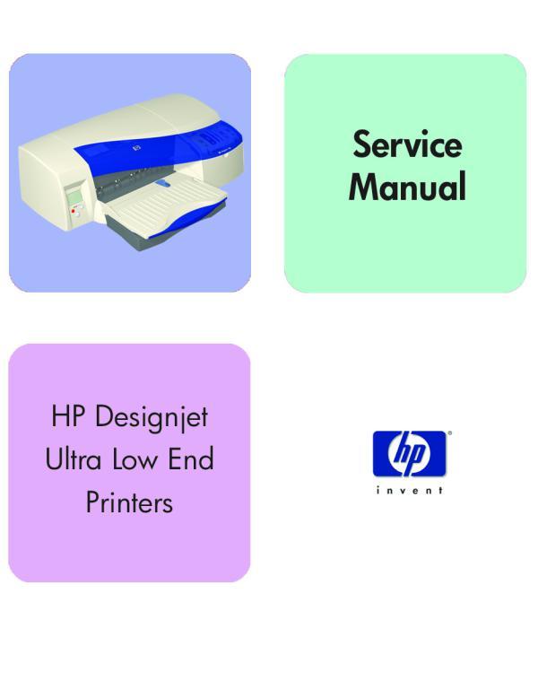 HP DesignJet Photo Printer Series Z6200 Parts /& Service Manual