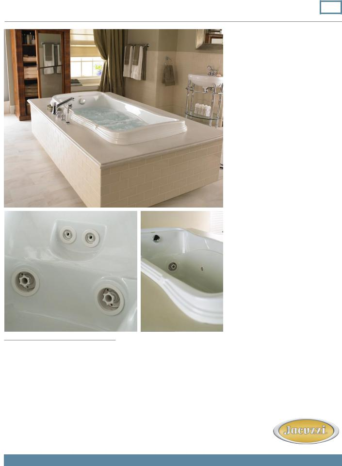 Jacuzzi Torretta 36 Whirlpool Bath Eh95 User Manual
