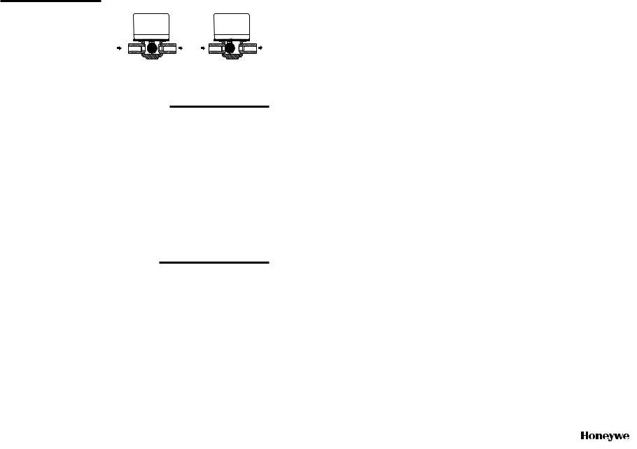Honeywell V8043  V8043a  V8043e  V8043f User Manual