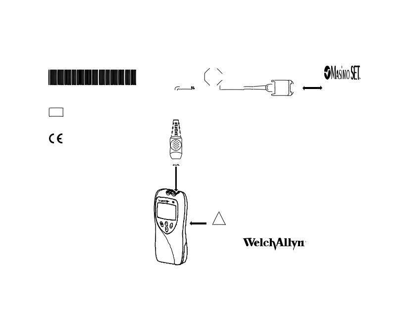 Welch Allyn Micropaq Spo2 Cable 4 Feet Masimo 810 2187 00a Quick Reference Guide User Manual