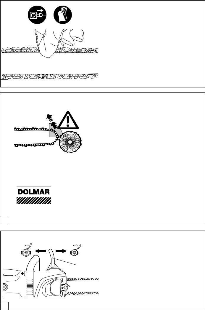Piezas de Repuesto Originales Dolmar Motosierra 2130a Rueda de Tracción