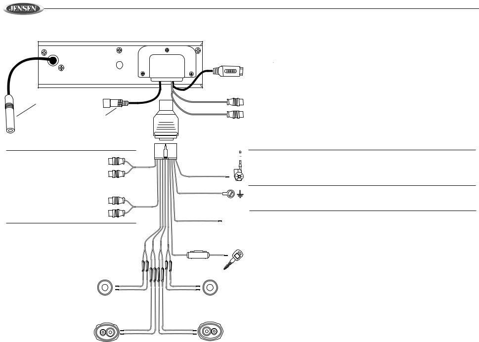 Jensen Mcd6115 User Manual