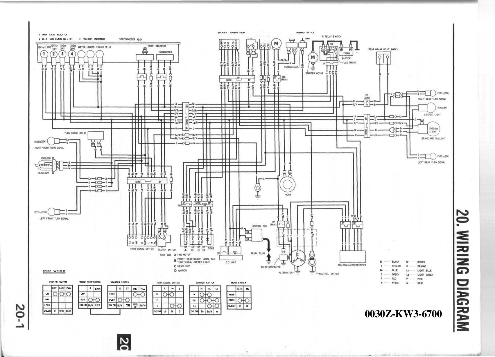 honda gx670 wiring diagram honda nx 250 service manual 20  honda nx 250 service manual 20