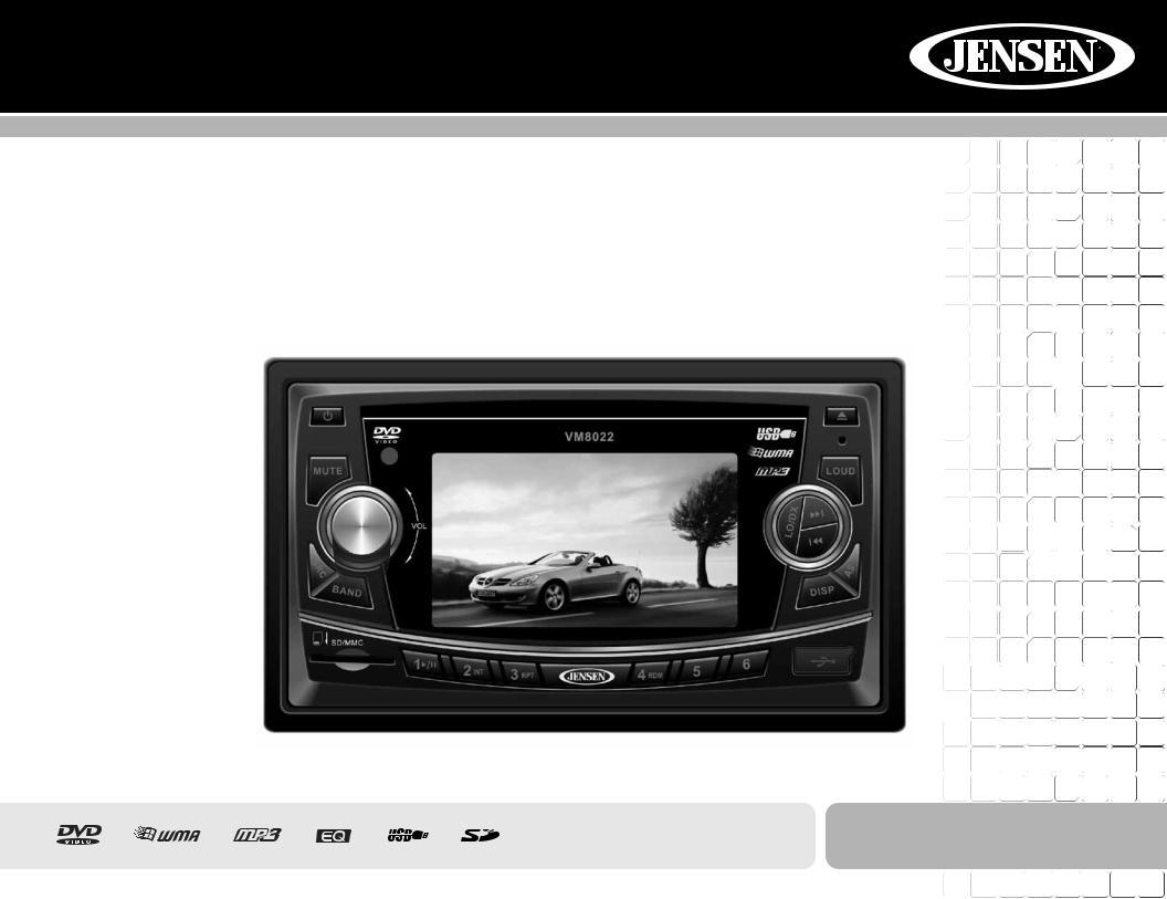 jensen car cd player wiring diagram jensen vm8022 user manual  jensen vm8022 user manual