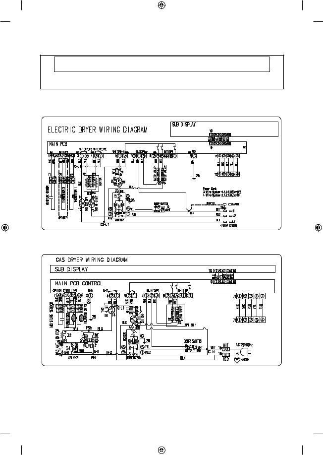 Samsung Dryer Dv42h5400gf, Samsung Dryer Wiring Diagram