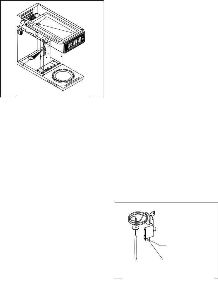 bunn vp17  vp17b user manual