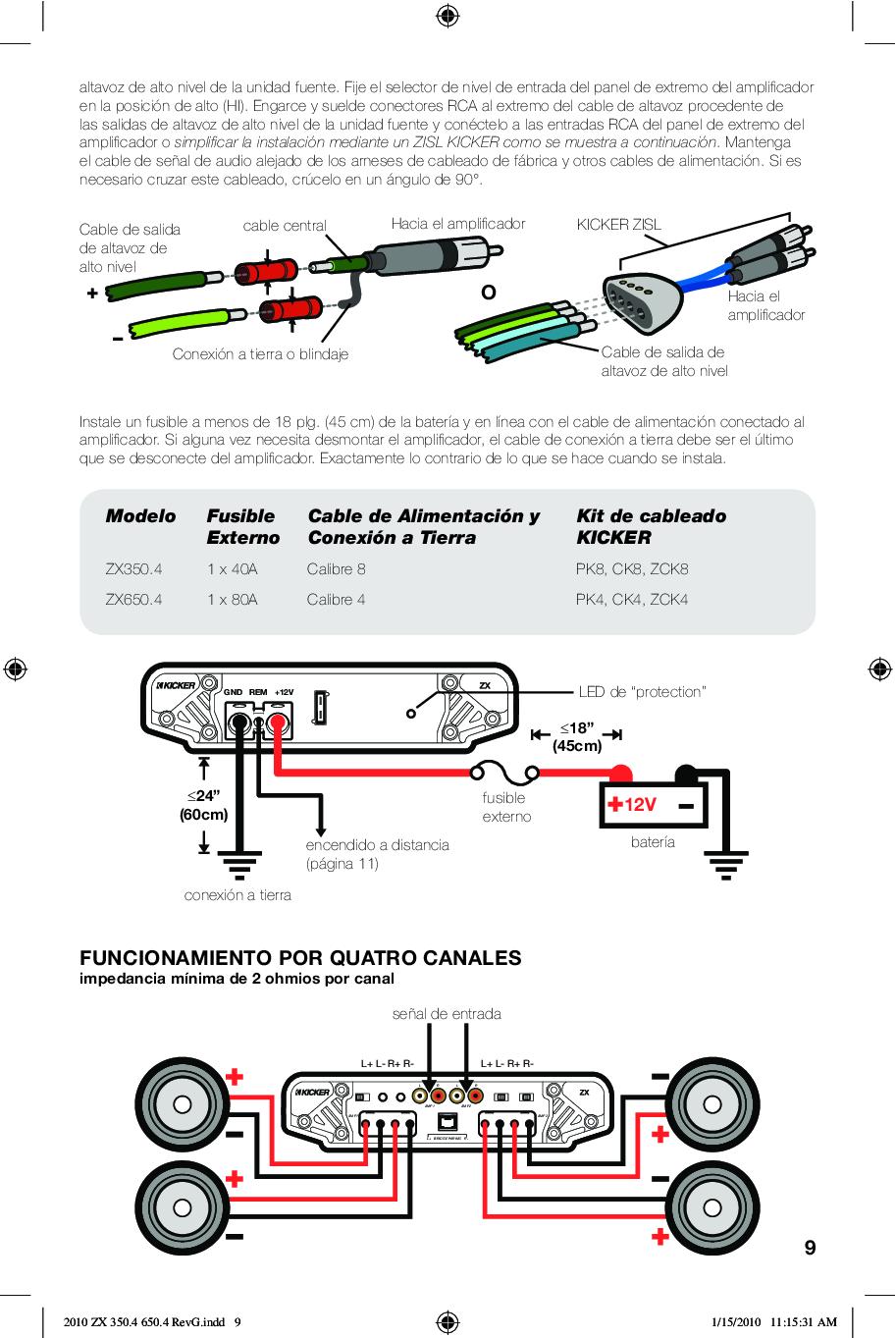 Kicker Zx700 5 Wiring Diagram