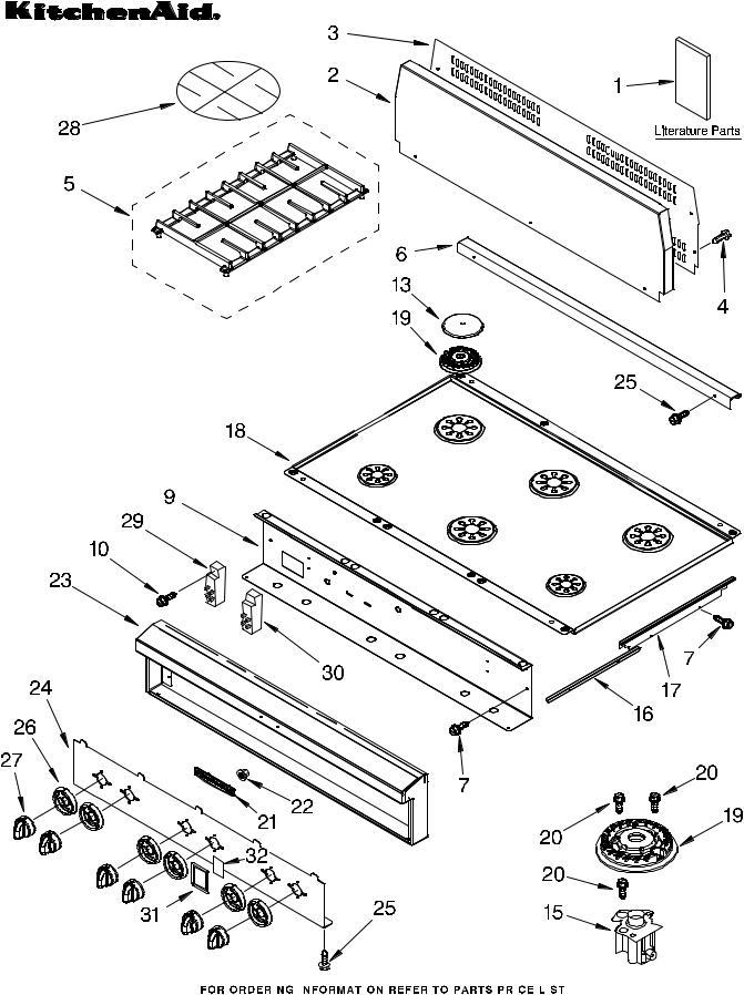 KitchenAid KGCP467JTL2, KGCP467JSS2 User Manual on