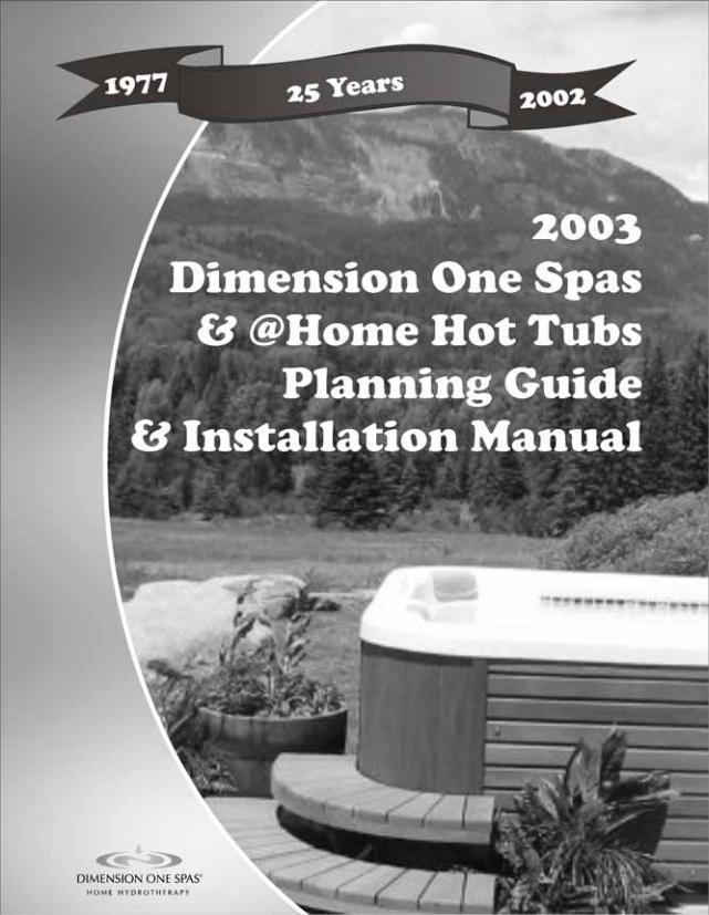 Hot Tub Spas Manual Guide