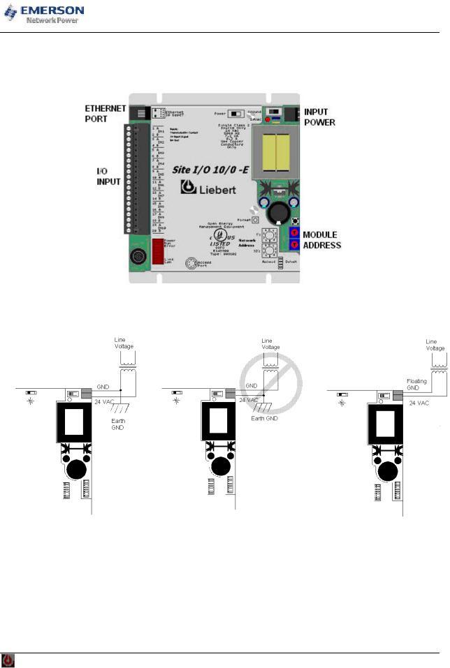 Emerson Network Power User Manual