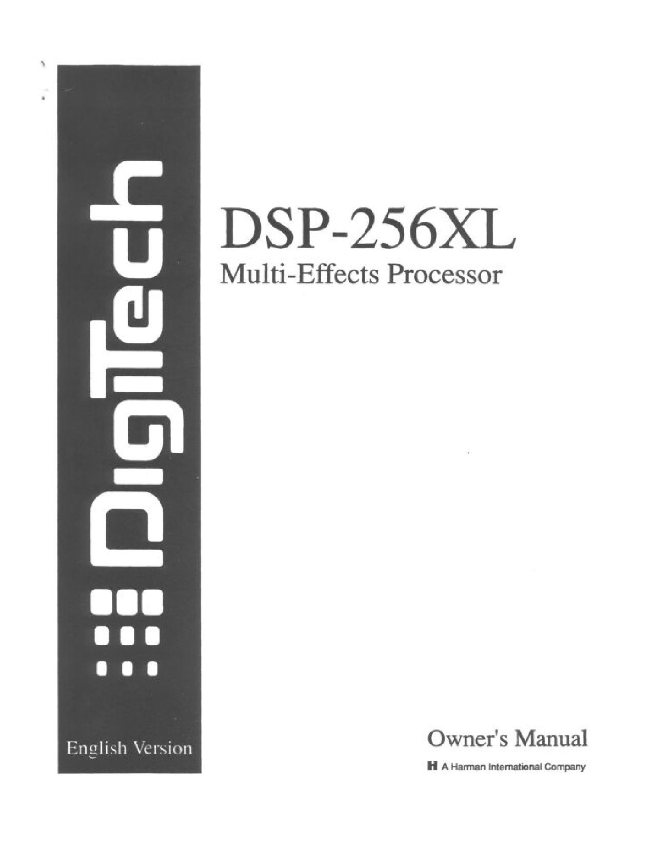 digitech rp7 user manual