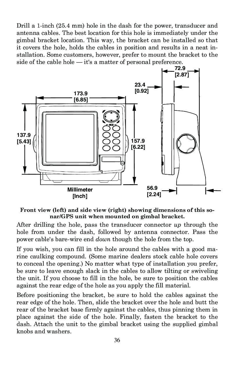 eagle seafinder 320df user manual