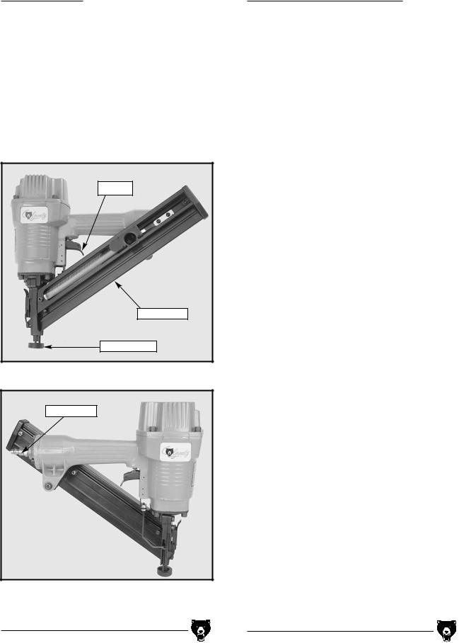 Grizzly Nailer P3690106 Discontinued part G3690 Bumper//Seal